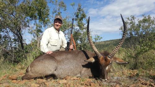 Waterbuck Bull – Winchester .300 Win Mag, 220gr Sierra