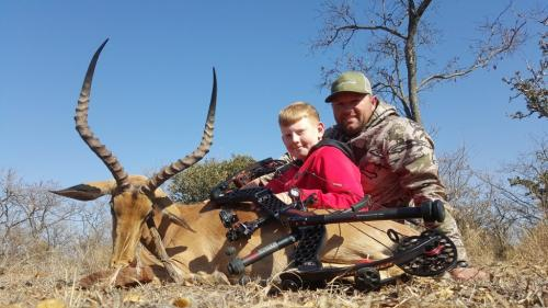 Impala Ram - Mathews Monster Safari, 85 Pounds, 530gr Arrow