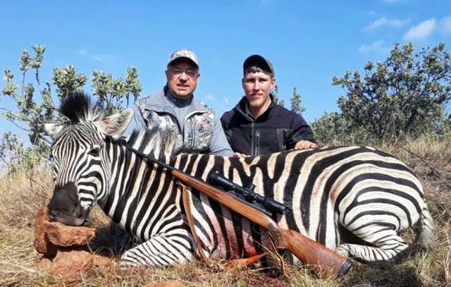 Zebra - Winchester .300 Win Mag, 220gr Sierra
