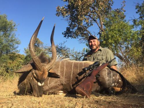 Nyala Bull – Musgrave .270 Win Mag, 150gr Nosler