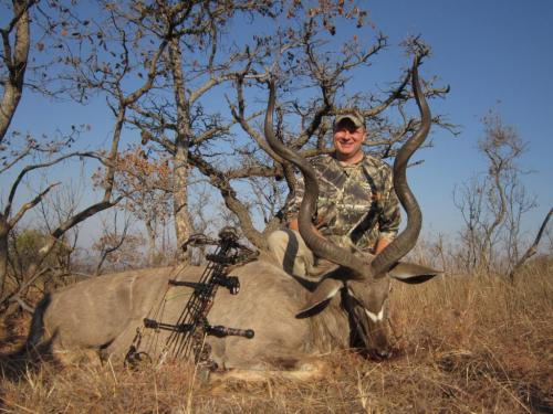 Kudu Bull – Mathews Z7, 70 Pounds, 400gr Arrow